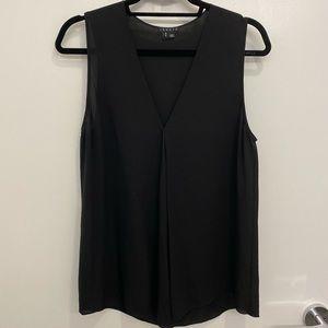 Theory silk sleeveless top